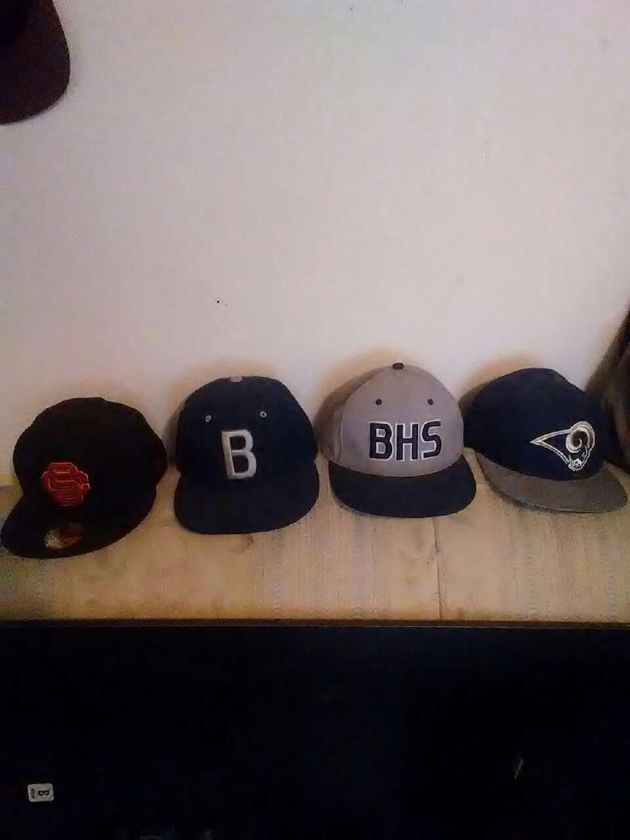 Sports Hats Fitted 16