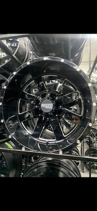 20x12 Ford F-250 wheels and tires package deal