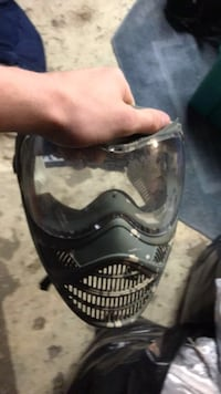 Airsoft paintball mask