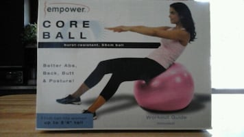 Brand New Stability Ball unopened in the box!