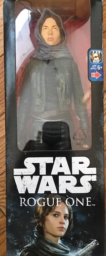 Star Wars never opened toy