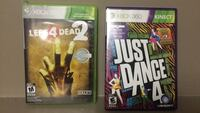 Xbox 360 games $5 each or both for $10 3118 km