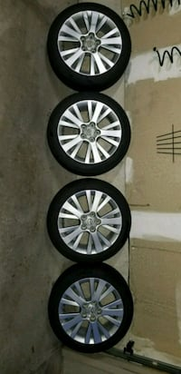 Mazda 6 OEM wheels with great condition tires Markham, L6E