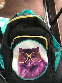 Cat w/ Glasses Backpack San Jose, 95118