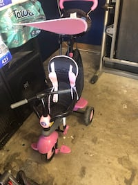 baby's black and pink trike Vallejo, 94590