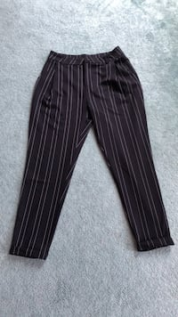 Stripped black dress pants Ajax, L1T 4Y8