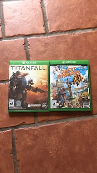 Two Xbox One game cases Sherbrooke, J1R 0E2