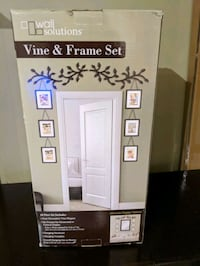 Doorway picture frame