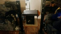 black and gray home theater system Peterborough, K9H 2W8