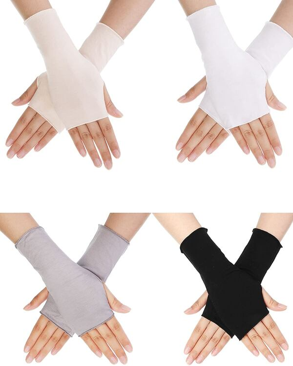 New! Bememo UV Protection Gloves Wrist Length Sun Block Driving Gloves 48ed07c9-0527-4560-991f-d45ae6a70152