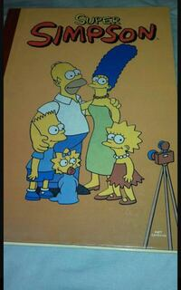 comic super simpsons Madrid, 28002