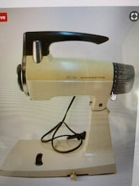 Mixmaster vintage 70's sunbeam 12 speed mixer
