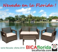 New outdoor furniture in its box 1 Year Warranty  Hialeah, 33016