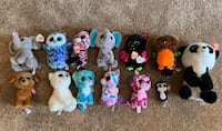 13 Ty Beanie Boos. 3 for $13 for regular size! Sioux Falls, 57103