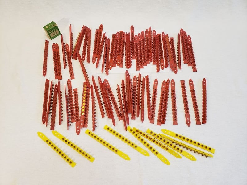 9 Yellow + 67 Red Lot of Hilti Cal.  (Phone number hidden by letgo) 04842 Cal. 27 Short #5  e599c959-1346-4d1f-b77f-fc8e5e516a12