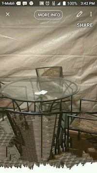 Creates n Barrel patio dining table and  more!