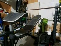 Weight bench and weights  Colorado Springs, 80916