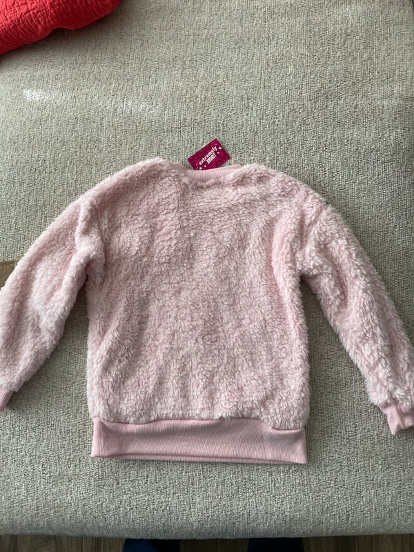 Extremely me Toddlers Girls Pink Plush Sweatshirt Sz 4T 4f05dc42-04c6-45f4-9e46-176638bc26b1