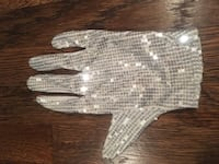 Michael Jackson style sparkly sequin glove, adult one size Arlington, 22202