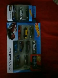 Hot wheels toy car set