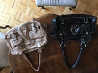 2 purses made in St. Jacobs mint condition  Brampton, L6Y