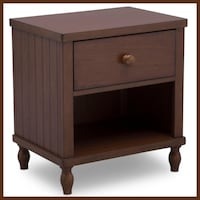 New Set of 2 Nightstands Charlotte