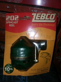 Fishing reel never opened