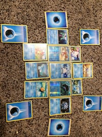 Water ice Pokémon cards