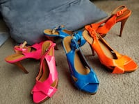 New NEON colors high heel Shoes Naperville