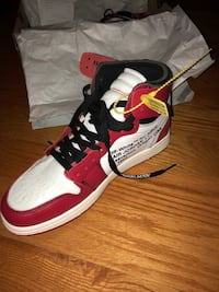 Off white air Jordan 1s