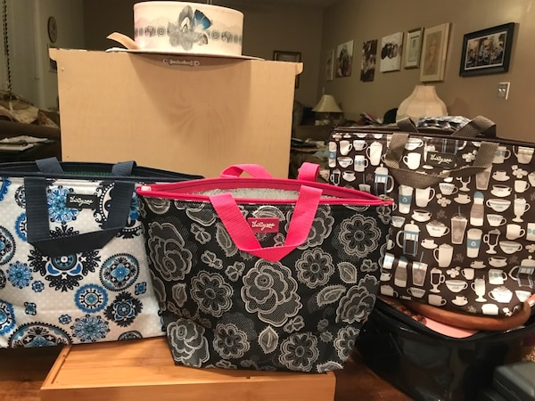 Pretty Insulated Lunch Bags