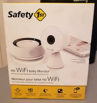 Safety 1st HD Wifi Baby Monitor with Audio Parent Unit Smart Phone Compatible Burnaby