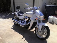 white and black touring motorcycle Harrisburg, 28075