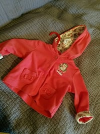 baby's red and black onesie Fresno, 93727