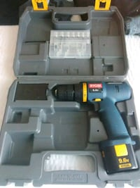 black and blue Bosch cordless power drill kit  Washington, 20024