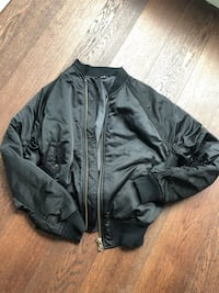 womens size small bomber jacket  Vancouver, V6B 2R5
