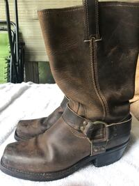 Frye harness boots  size 9