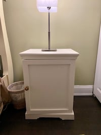 End table/cabinet