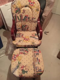 Rocking Chair and Ottoman Markham, L3T 4T7
