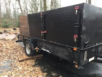 black and gray utility trailer Rockville, 20853