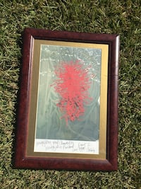 red abstract painting Sumrall, 39482
