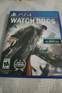 PS4 Watch Dogs game case Ralston, 68127