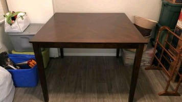 Bar Top Kitchen Table