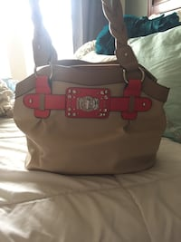 Tan and Pink Leather Rosetti Purse Boise, 83702