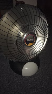 black HeatDish radiant heater Ashburn, 20147