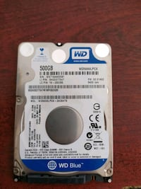 500 GB notebook hard disk