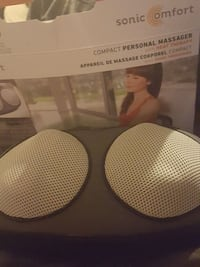 Sonic Comfort compact personal massager with heat therapy box Langley, V2Y