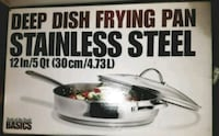 Macy's Deep Dish Frying Pan 5 qt 12 inches Menlo Park, 94025