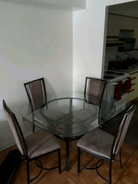Glasses table and chair  moving   Mississauga, L5B 4B4