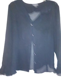 black and white button up long sleeve shirt Jacksonville, 72076